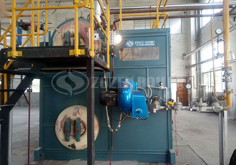 4 tph SZS condensing gas-fired boiler in Anhui