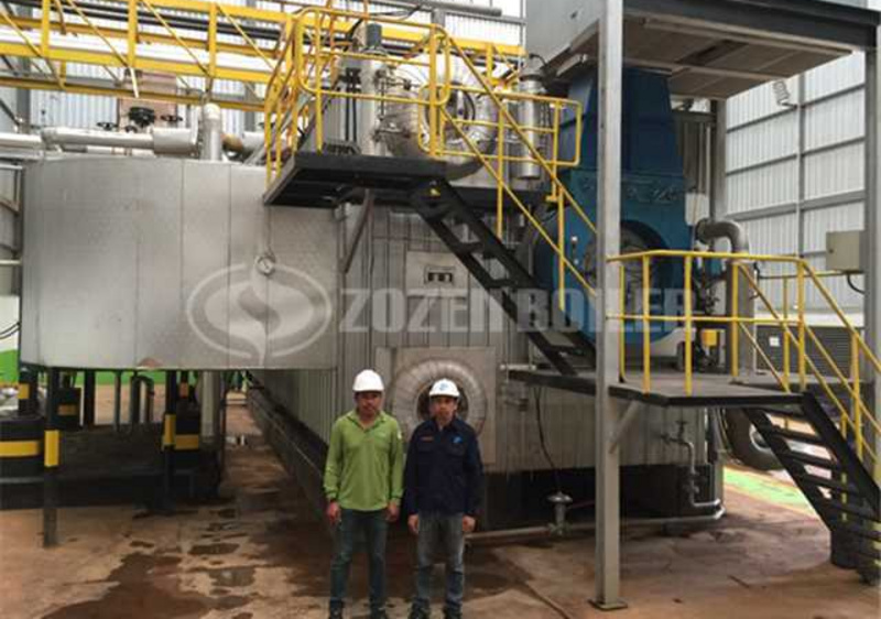 30 tph steam boiler for starch plant