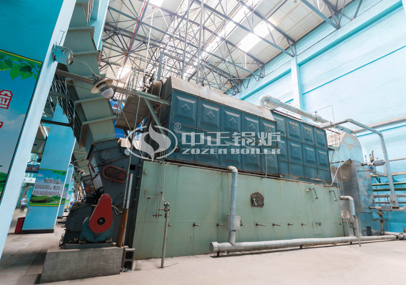 15 tph SZL series coal-fired steam boiler project for medical universities