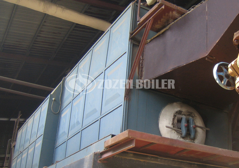 15tph coal-fired water tube boiler project for food industry