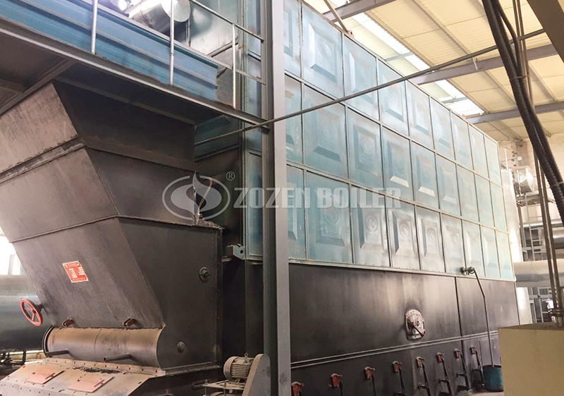 9.4MW YLW coal-fired thermal fluid heater for textile industry