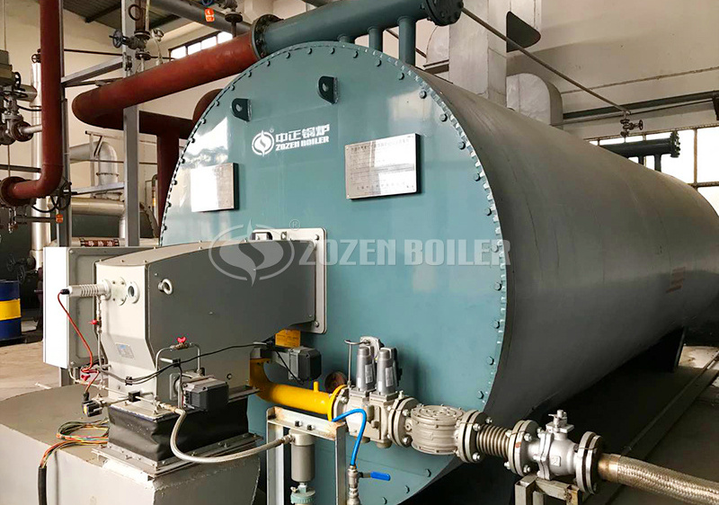 2.4MW YQW gas-fired thermal fluid heater for textile industry