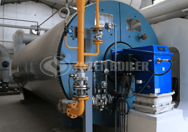2.4 MW thermal fluid heater for tobacco industry