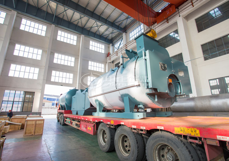 3.6 million kcal YQW series gas-fired horizontal thermal oil heater & waste heat boiler project for building material industry