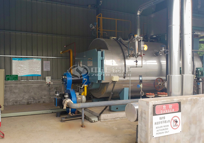 6tph SZL series biomass-fired steam boiler project for the chemical industry